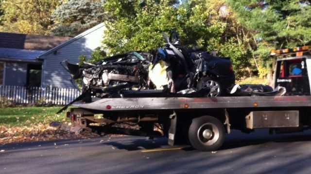 Portland Conn Crash 102613