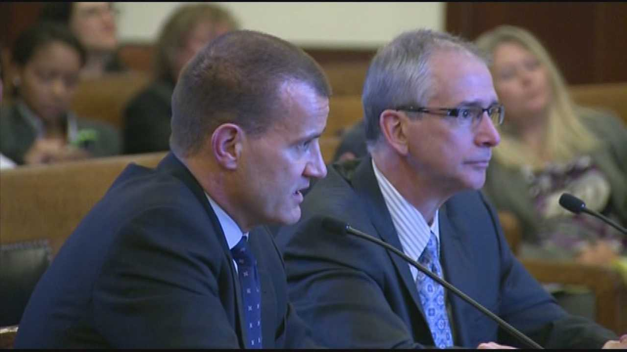 One of the country's biggest and best known consulting firms was grilled by lawmakers on Beacon Hill Monday.