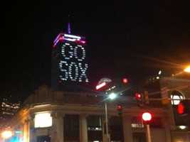 The Prudential had a message for the team.