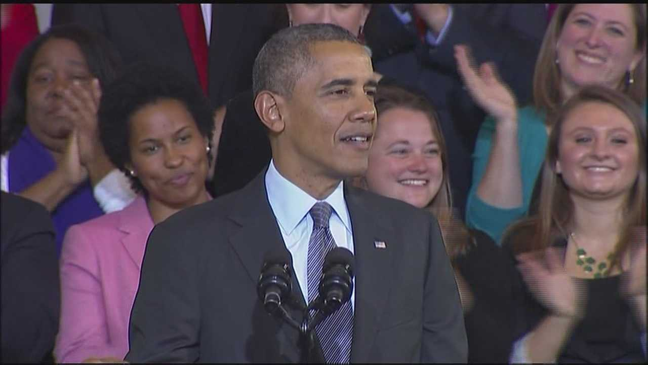 Obama cites early setbacks of Mass. health law