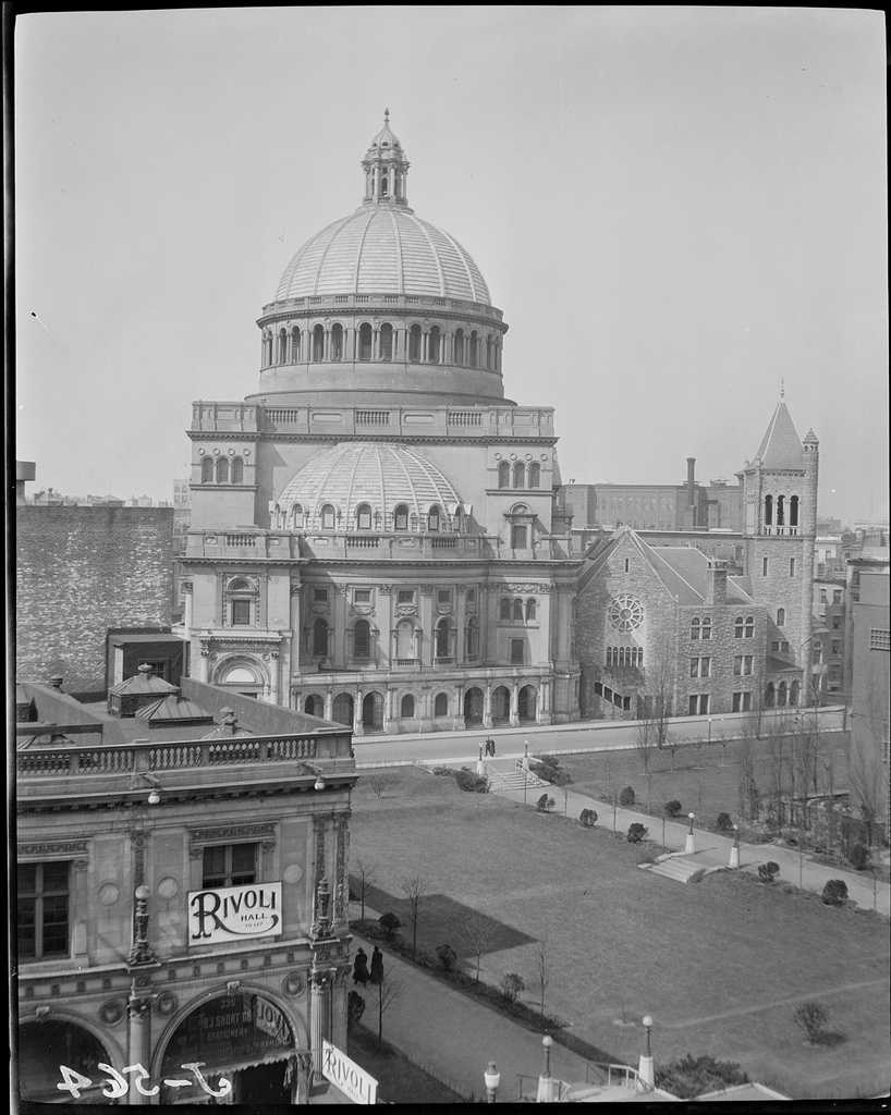 Christian Science Center in 1918