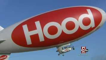 The Hood Blimp has been flying over Red Sox games, Patriots games, concerts and other events since 1996.