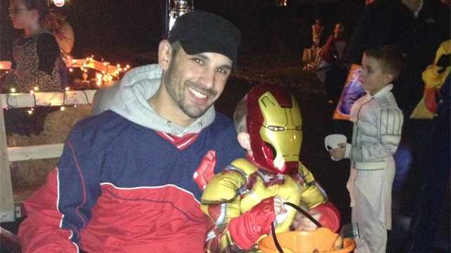 Marc Fucarile with son on Halloween 103113