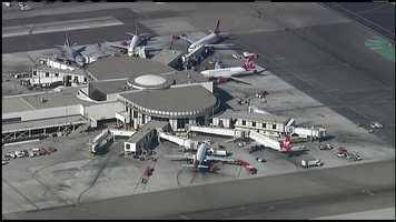 The shooting occurred inside LAX Terminal 3.