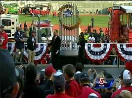 """The ceremonies kick off as Gov. Deval Patrick says city is """"Boston Strong"""""""