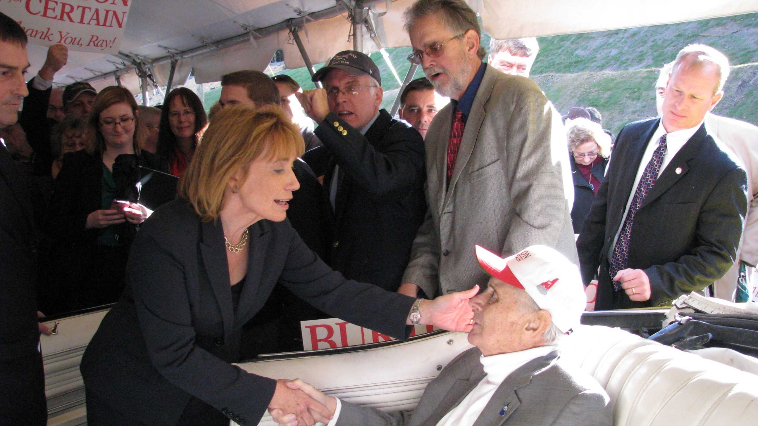Ray Burton at Route 302 dedication