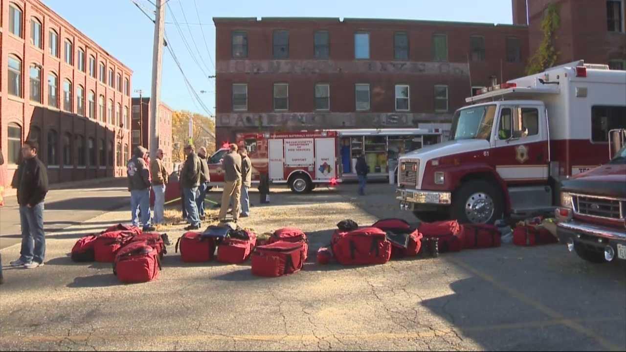 Evacuations ordered after hazmat spill