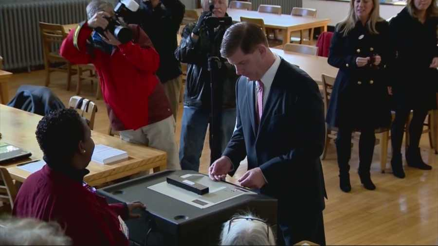 Marty Walsh was elected the new mayor of Boston on Nov. 5.