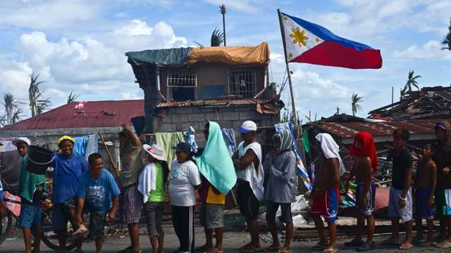 Super Typhoon Haiyan aftermath