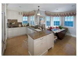 Gourmet kitchen with butler's pantry