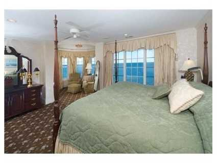 There are four bedrooms.