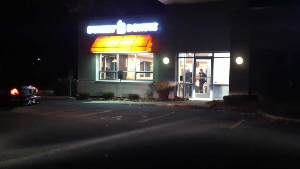 Dunkin Donuts robbery