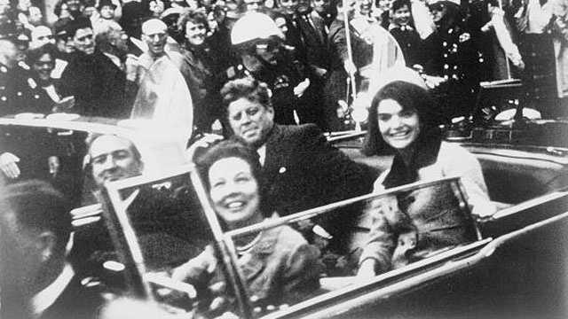 JFK motorcade