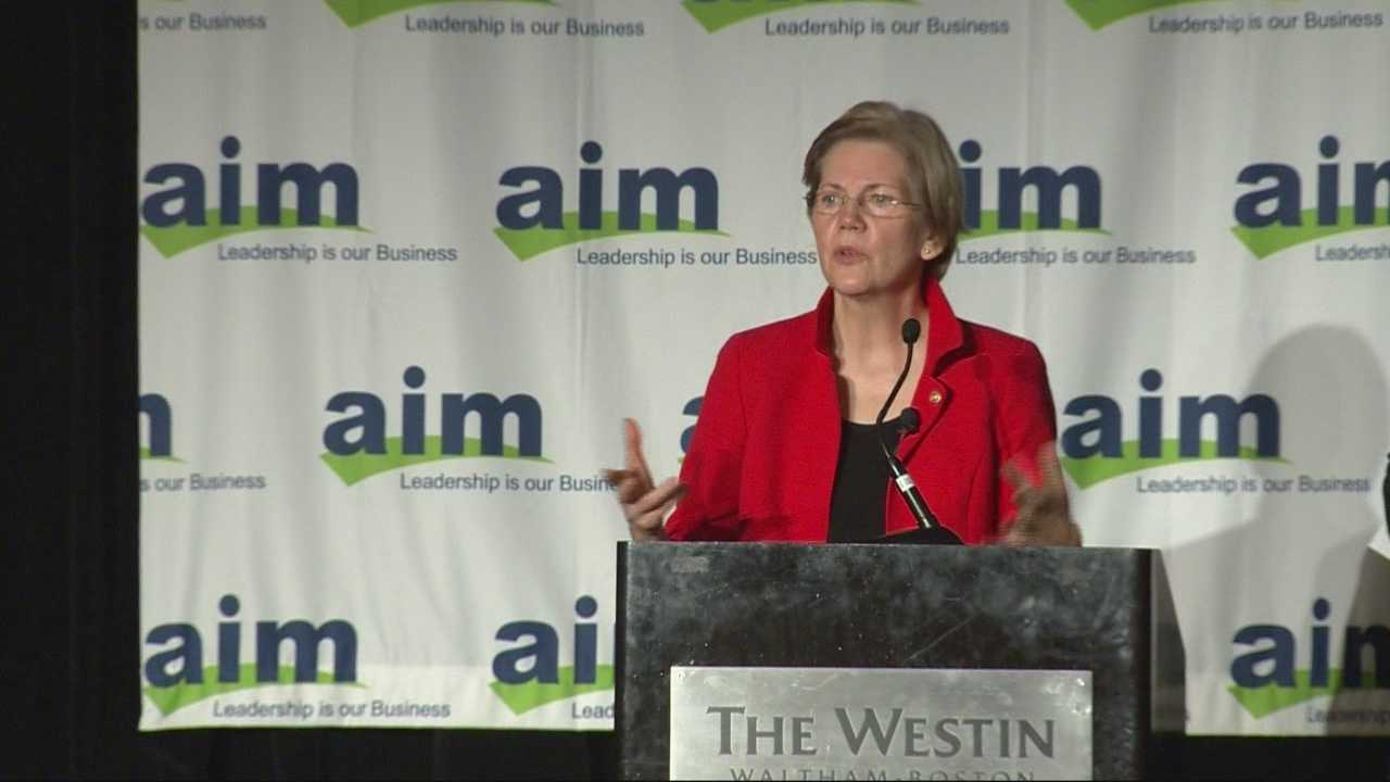 Warren addresses presidential rumors