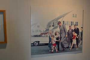 The exhibit covers the summer of 1963 to the assassination on Nov. 22, 1963, as well as the subsequent days on Cape Cod.