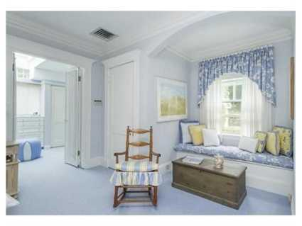 Theexpanded Master Bedroom has a dressing room and sun porch.