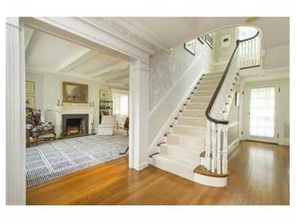 Stunning 1915 Colonial tastefully blends contemporary features with the fine craftsmanship of the past.