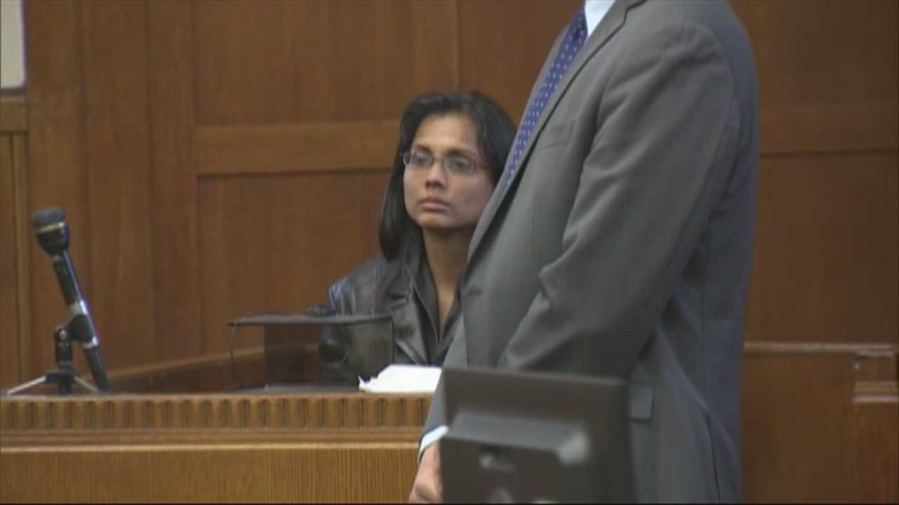 Annie Dookhan changed her plea Friday in Suffolk Superior Court on charges of obstruction of justice, perjury and tampering with evidence. She was sentenced to three to five years in prison, followed by two years' probation.