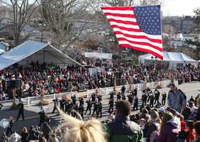 The annual America's Hometown Thanksgiving Parade was held Saturday.