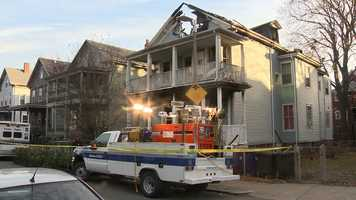 After the fire was extinguished, firefighters found drug paraphernalia in the multi-family home, police said.