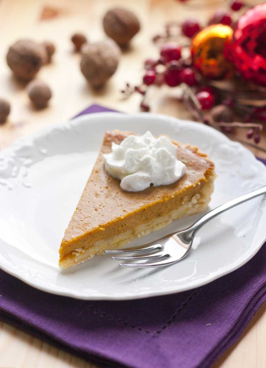 Choose a slice of pumpkin pie and save 225 calories.
