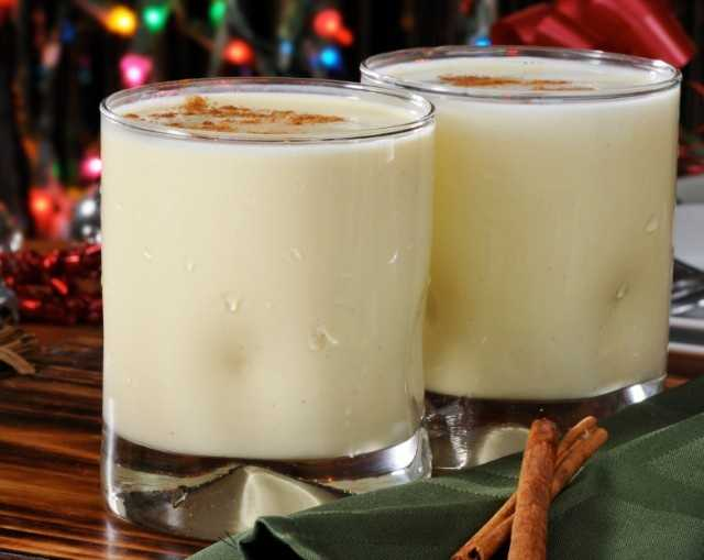 Choose eight ounces of light eggnog and save 100 calories.