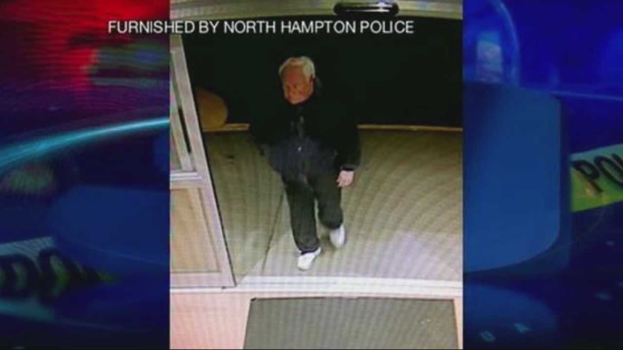 Police in North Hampton, N.H., are searching for a man involved in a road rage incident.