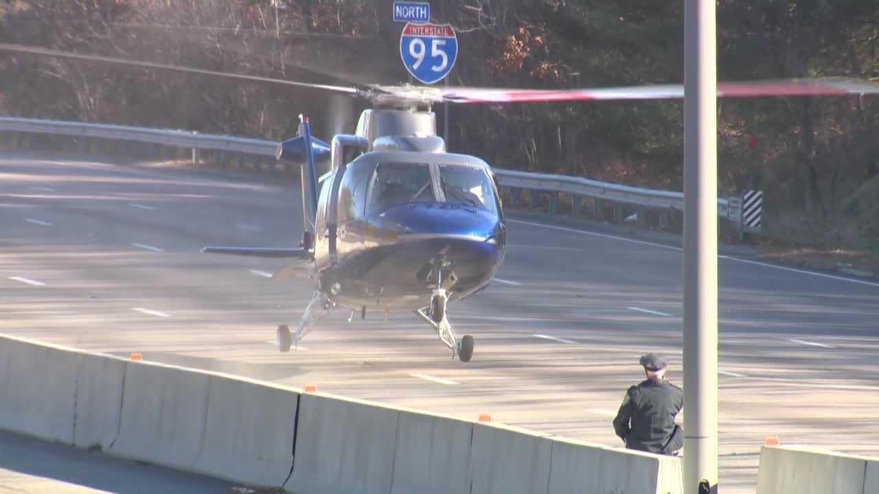 Route 128 Woburn Crash Chopper 112913.jpg