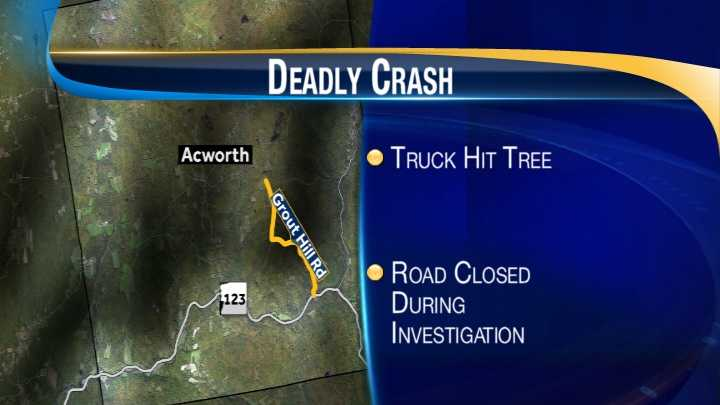 Acworth Crash map