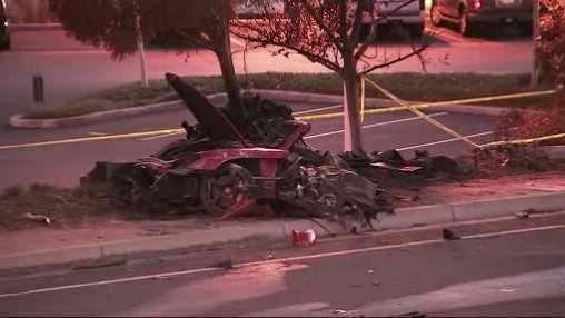 Paul Walker crash scene 113013