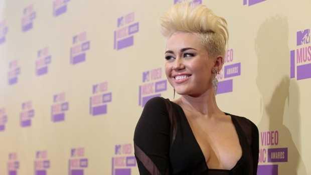 1.) Miley Cyrus