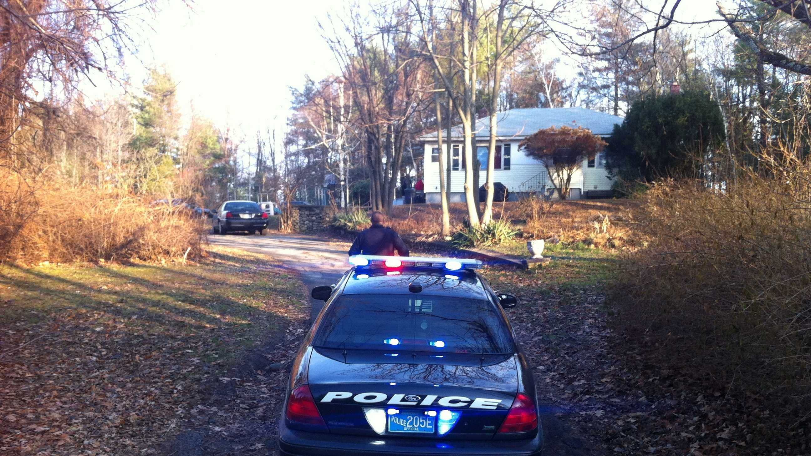 Lunenburg Police at HOme 120313