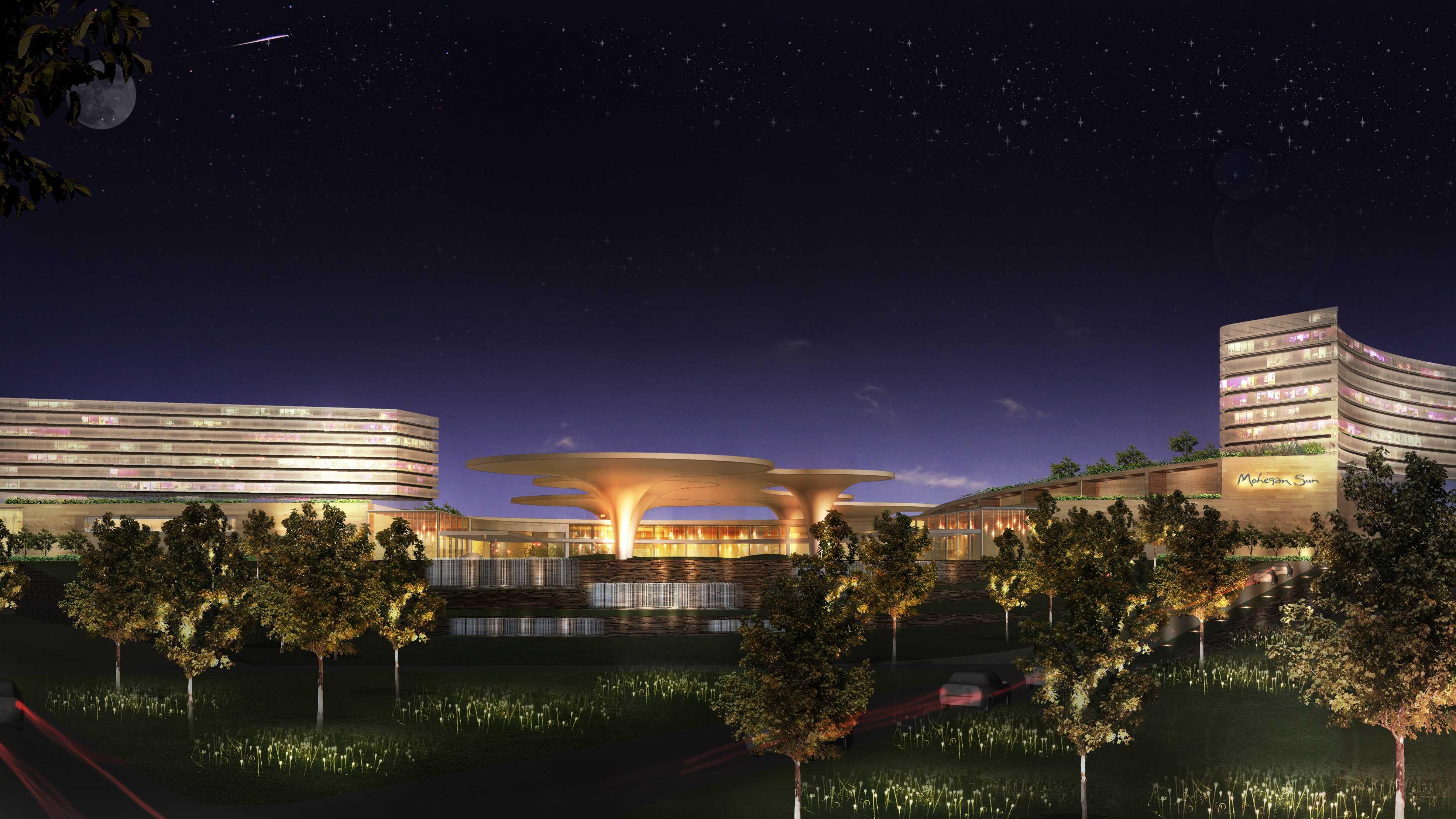 Mohegan Sun Drawing of Suffolk Downs Casino