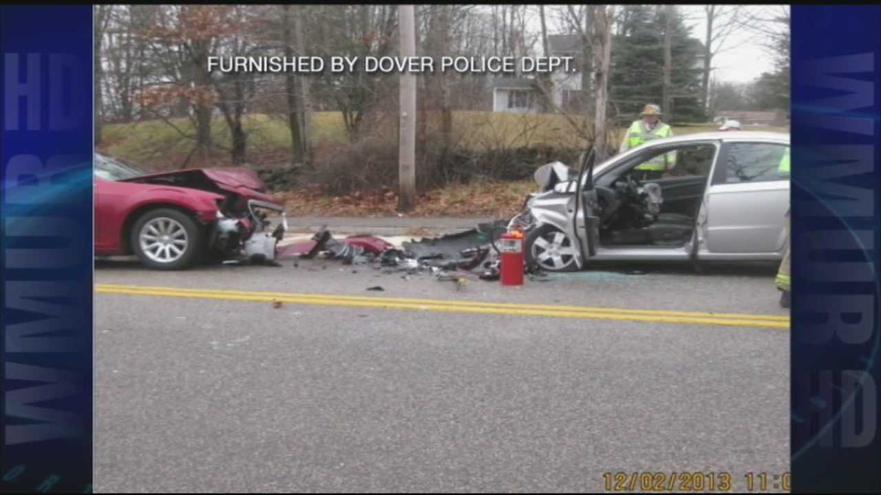 Man killed in head-on crash in Dover