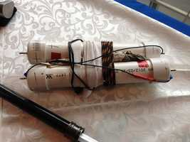 This is a homemade battery charger that was confiscated.