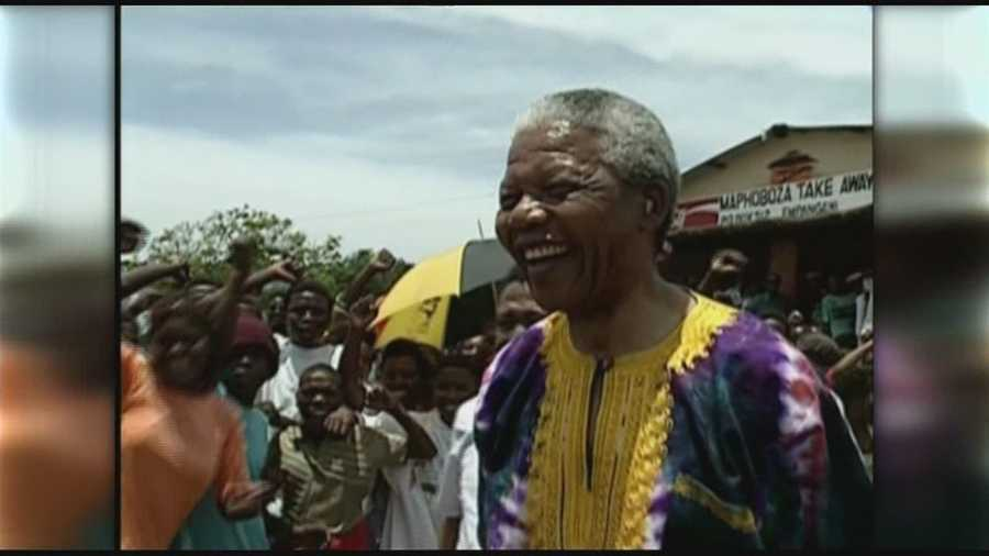 Former South African president Nelson Mandela died on Dec. 5 at the age of 95.