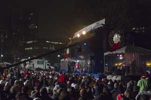 Thousands attended the annual Boston Common tree lighting ceremony Thursday night, kicking off the holiday season in Boston.