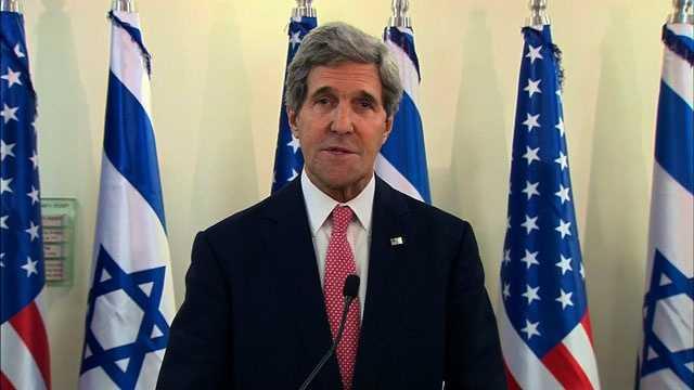 John Kerry in Jerusalem