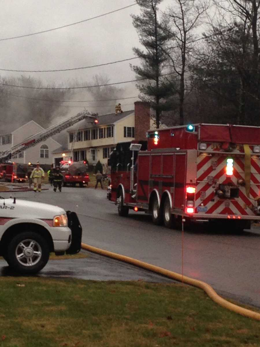 A criminal investigation is under way after a woman was found dead Friday in a house fire in Rutland.