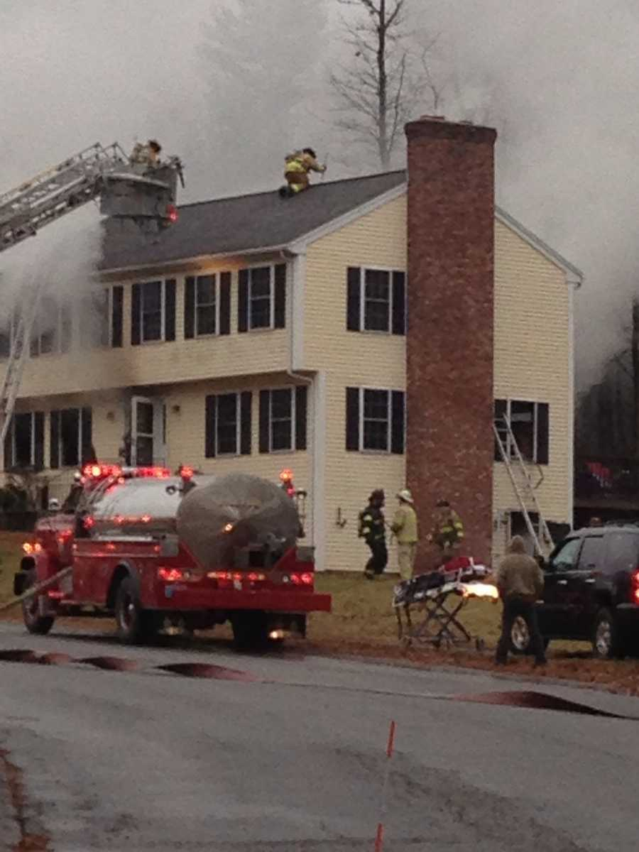 """""""In the process of putting the fire out, we did discover one fatality,"""" Rutland Fire Department Chief Brad Weber said."""