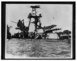 USS Arizona, Submerged off Ford Island, Pearl Harbor, Honolulu