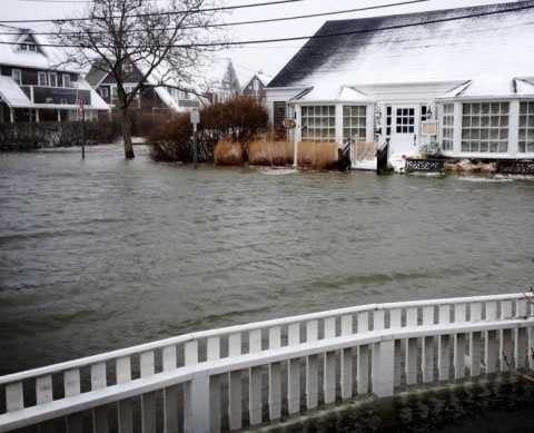 Residents on the Cape and islands saw flooding.