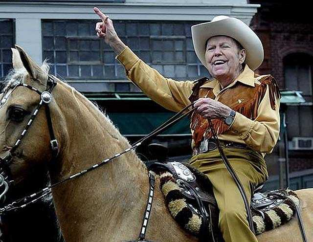 """Rex Trailer, the native Texan beloved by a generation of New England children for the cowboy skills he demonstrated on the Boston-based television show """"Boomtown,"""" died on Jan. 9."""