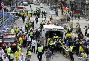 Two bombs at the finish line of the Boston Marathon killed three people and injured more than 250 on April 15.