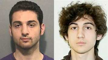 Brothers Tamerlan and Dzhokhar Tsarnaev were identified by the FBI as the Boston Marathon bombing suspects.  During the confrontation with police on in Watertown on April 19, Tamerlan was killed and Dzhokhar escaped.