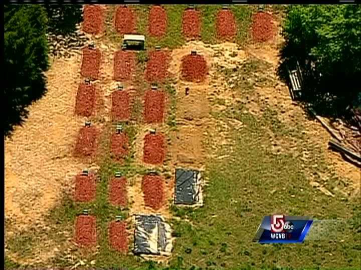 Boston Marathon bombing suspect Tamerlan Tsarnaev was buried in a cemetery in central Virginia on May 10.