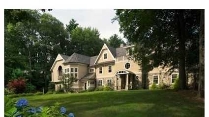 56 Cart Path Road is on the market in Weston for $6.4 million.