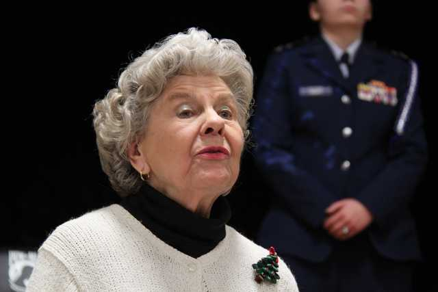 Joanne Patton, of Topsfield, is the daughter-in-law of famed World War II Gen. George Patton and the widow of Gen. George S. Patton, his son.