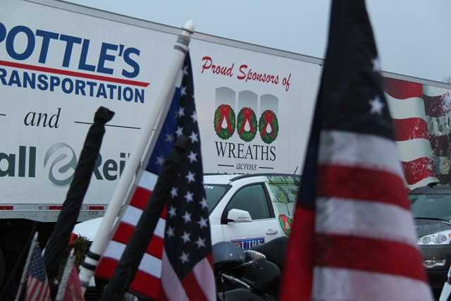 Truckers and carriers donate their services to help distribute the wreaths, said Karen Worcester, executive director.