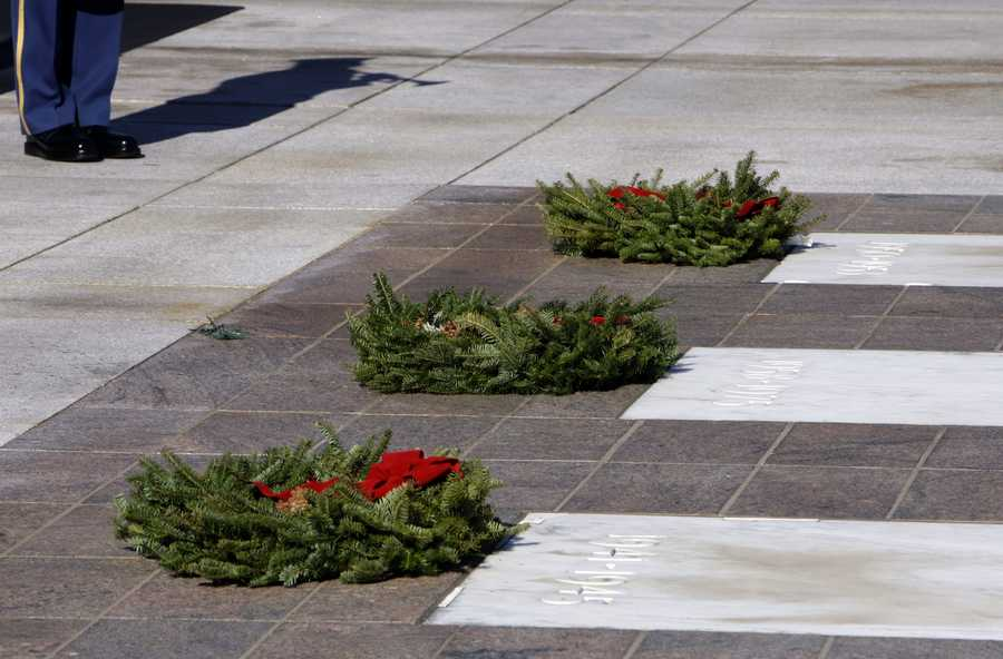 The wreath-laying tradition began in 1992, when Maine businesman Morrill Worcester ended up with 5,000 extra wreaths, which he shipped to Arlington National Cemetery.